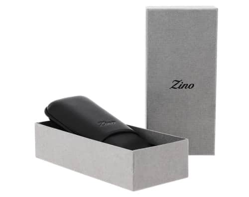 Etui � cigare Zino R-2 soft touch noir