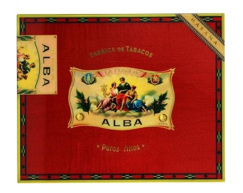 Cave a cigare Elie Bleu Flor de ALba Rouge