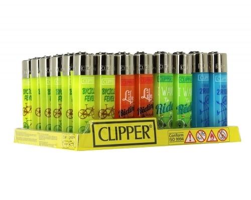 48 briquets Clipper Bycicle