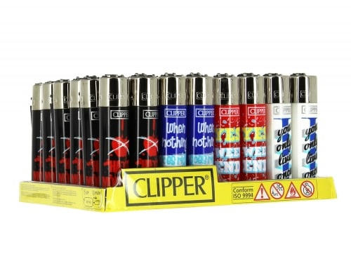 48 briquets Clipper By Word