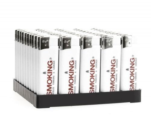 50 briquets Electroniques Smoking.fr