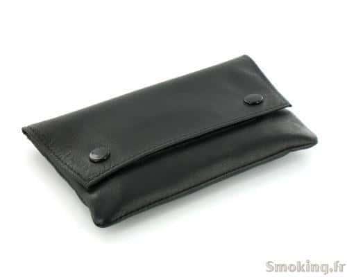 Blague � tabac cuir BC14 Noire