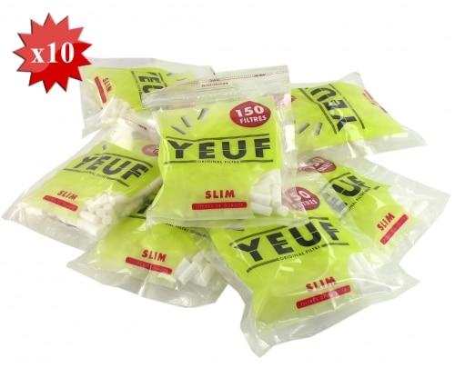 Filtres Yeuf Slim x 10 sachets