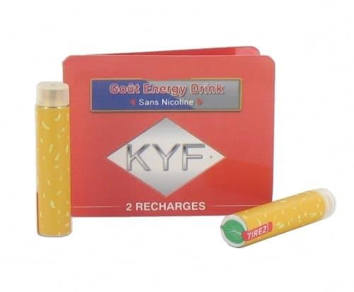 2 Recharges Go�t Energy Drink sans nicotine Cigarette KYF