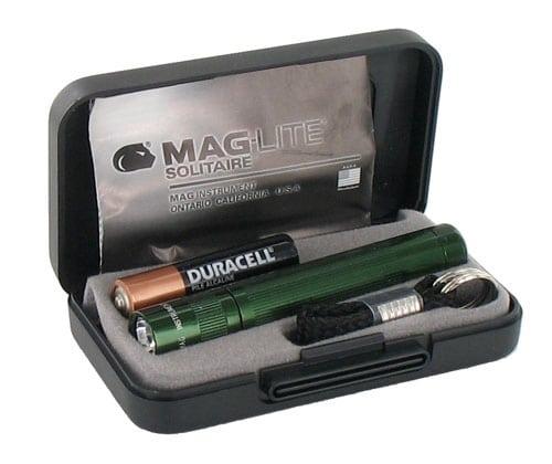 Lampe Maglite Solitaire vert