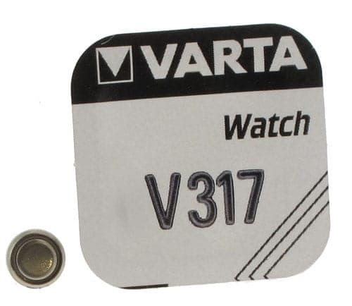 Pile Oxyde d\'Argent Varta V317