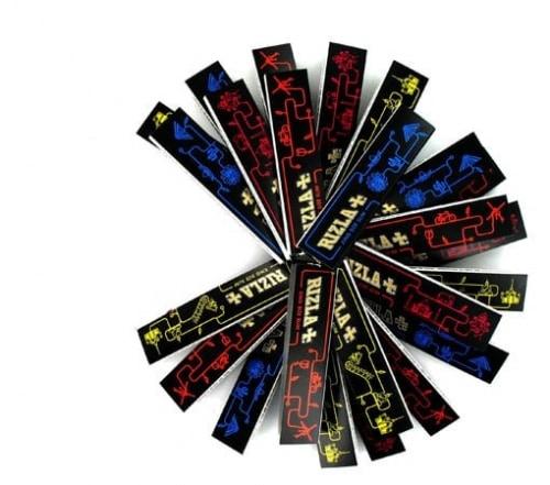 Papier � rouler Rizla + Slim Black Edition Limit�e x 25