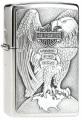 Zippo Harley Davidson Eagle On Globe Emblem