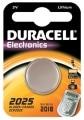 Pile Lithium Duracell CR2025